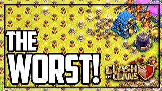 Where the WORST BASES HIDE in Clash of Clans!