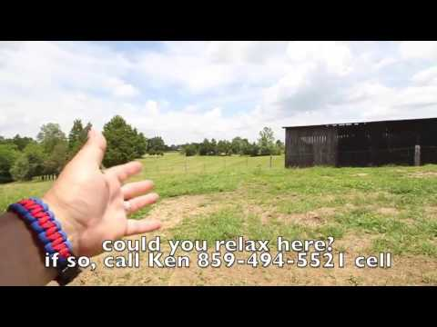 11 acre Kentucky Farm Land + House For Sale in Amish Country
