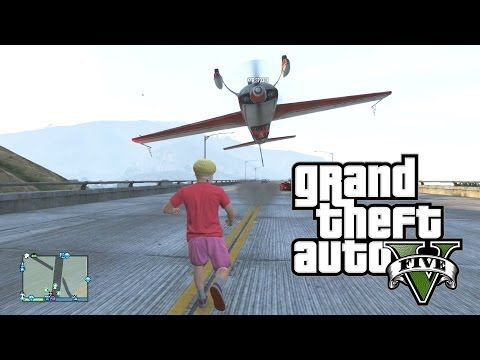 GTA 5 Funny Moments (Epic Plane Tunnel Stunts & Fails) GTA Online Funny Moments