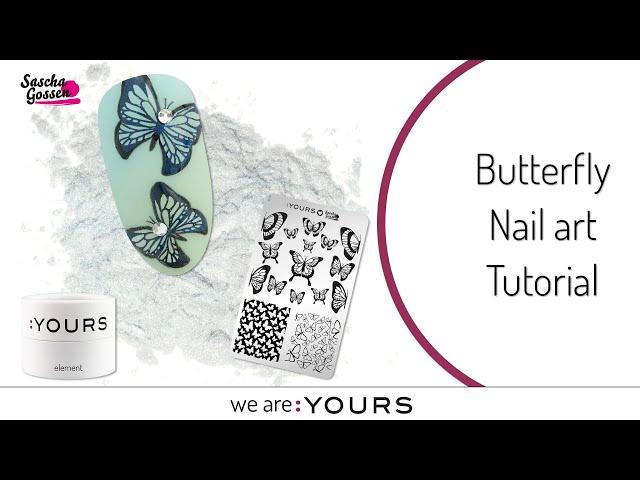 Butterfly Nail art Tutorial