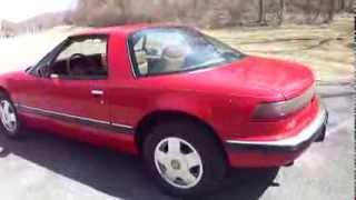 1989 Buick Reatta 32k miles Classic American Car - Tour, Walk Around, Engine Start Up