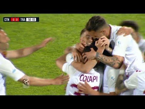 Highlights Catania-Trapani 1-2. 36^ Giornata SerieC 23.04.18 ©TrapaniCalcio.it