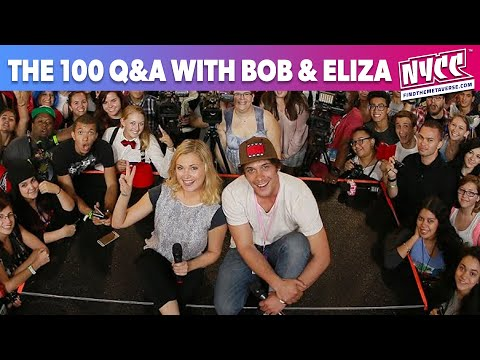 The 100 Q&A with Eliza Taylor and Bob Morley at Florida Supercon 2015