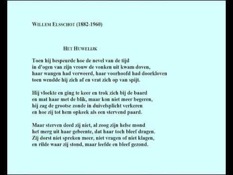 Willem Elsschot Gedicht Het Huwelijk