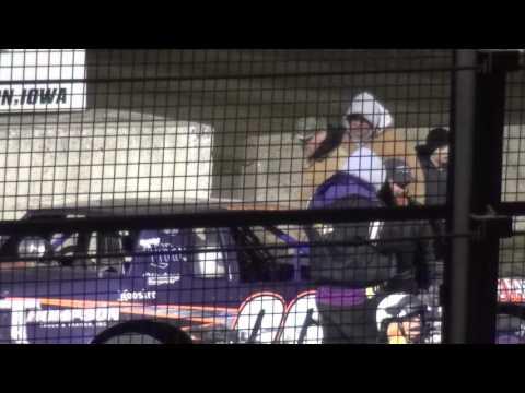 John Spaw Stock Car feature winner West Liberty Raceway 4/9/16