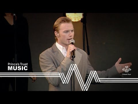 Ronan Keating - When You Say Nothing At All (The Prince's Trust Party In The Park 1999)