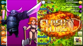 "Clash of Clans - VALKYRIES ARE STRONGER THAN PEKKAS ?! ""BEST TROOP IN CLASH OF CLANS"" ?!"