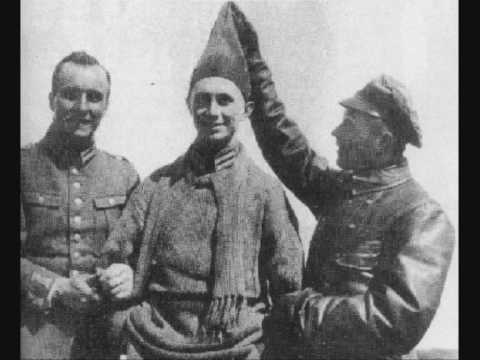 Manfred von Richthofen and his best friends(Voss,Wolff)