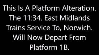Nottingham Announcements Part 2