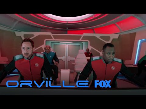 Gordon Shows Off His Move Hugging The Donkey | Season 1 Ep. 1 | THE ORVILLE