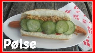 How to Make a Danish Hot Dog (Pølse) Link to Revolving Dansk http:/...