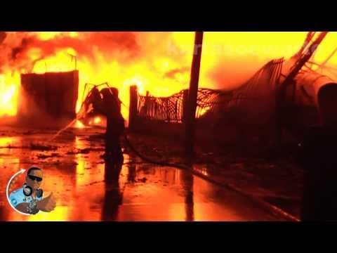 Muara Karang Fire Part 1/2 - North Jakarta 2012 (Original Audio)
