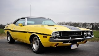 Dodge Challenger 1970 R/T 440 Magnum Engine Full restored - Very High-End V8 Sound!