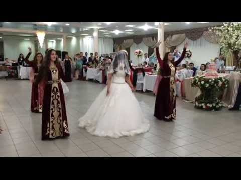 Танец невесты - ансамбль танца Армавир (свадьба, июнь 2016)