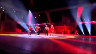 Jorgie Porter  Team Jorgie Spice Up Your Life  Dancing On Ice 4th March 2012