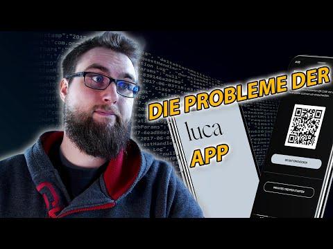 Das ist nicht verschlüsselt, liebe Luca App