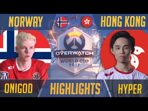 Norway vs Hong Kong - Turning Up The Heat | Overwatch World Cup 2017 Shanghai Esports Highlights