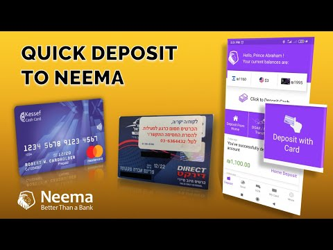 NEEMA DEPOSIT WITH CARD || NEW UPDATE || QUICK DEPOSIT