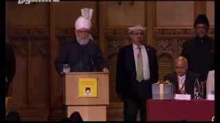 London, UK  The Conference of World Religions   Keynote Address by World Muslim Leader