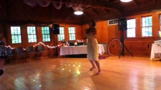 The Morrison Wedding hooping bride