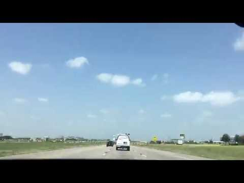 Driving Around Dallas-Fort Worth, Texas (Time-Lapse)