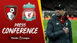 Jürgen Klopp's pre-match press conference | Bournemouth