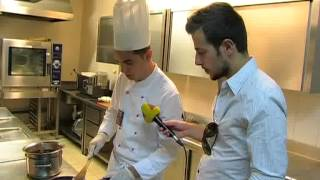 COOKING SHOW IN SPLENDID - WHITE CHOCOLATE MOUSSE WITH ORANGE FLAVOUR Thumbnail