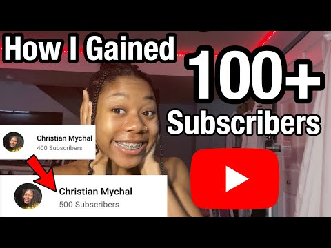 how i gained 100+ subscribers in a month! | tips for small youtubers |