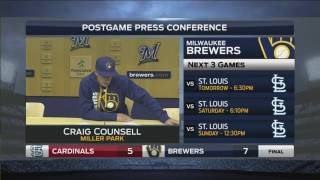 Counsell praises Davies after first win, says fastball could improve