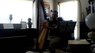 Harp: The Kings Dance - Praetorius 16th Century