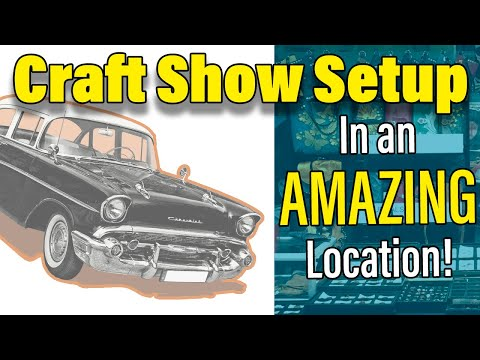Craft Show Tips For a Small Indoor Craft Fair Display and Setup - Reynolds Museum