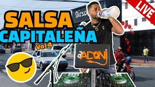 SALSA CAPITALENA MIX 🎤 SALSA CLASICA VOL 4 🔥 MEZCLANDO EN VIVO DJ ADONI 😱 CUANTA SALSA DURA