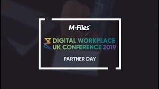 Digital Workplace UK 2019 Partner Day