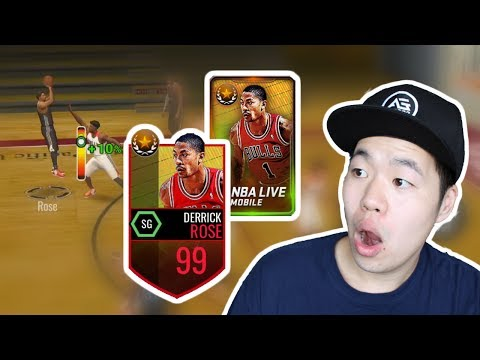 Summer Court Legend Derrick Rose - The Past MVP is Back - Nba Live Mobile
