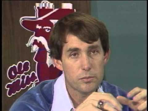 Coach Steve Sloan leaves Ole Miss - 1982 WLBT