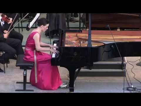 LISZT Concerto Nr.2, IRENA GULZAROVA, LAWRENCE FOSTER, GRAFENEGG FESTIVAL