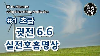 [10분] 귓전 66호흡법(초급명상호흡)