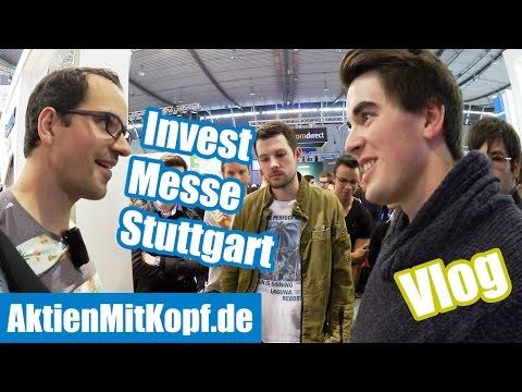 FMA Invest Messe in Stuttgart! Der Aktien mit Kopf Vlog