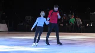Savchenko / Massot practice -Un giorno per noi- Florence Ice Gala 29/04/17