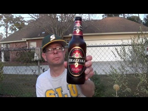 Louisiana Beer Reviews: Baltika No. 9 Revisited (Special Edition)