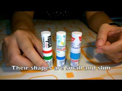 Thai Herbal Inhalers and Thai Menthol Inhalers to revive the