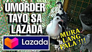 ORDER TAYO SA LAZADA NG KALAPATI