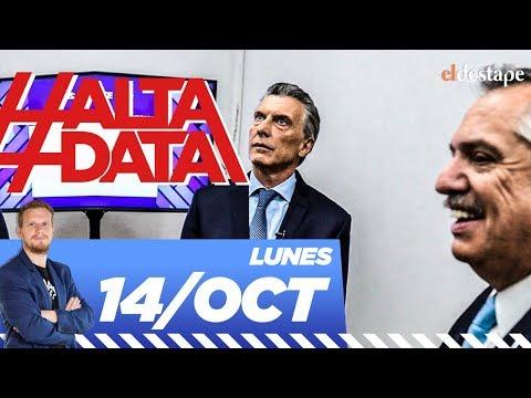 Los cruces en el debate presidencial entre Macri y Alberto Fernández | #AltaData