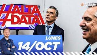 Los cruces en el debate presidencial entre Macri y Alberto Fernández   #AltaData