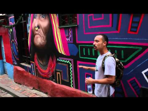 Bogotá Graffiti Tour // Enero 2015