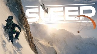 Steep - Amazing Crashes & Fun! - Open World Winter Sports - Steep Gameplay Highlights