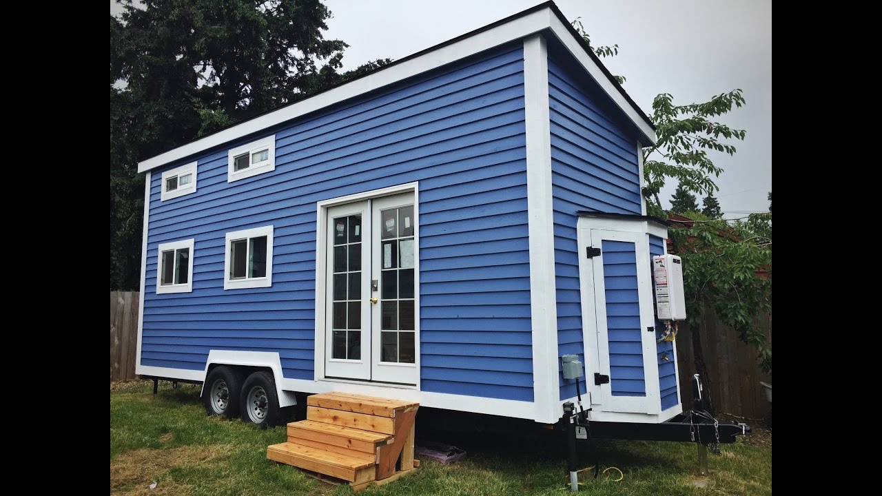 Tiny House For Sale in Portland Gives You OPTIONS YouTube