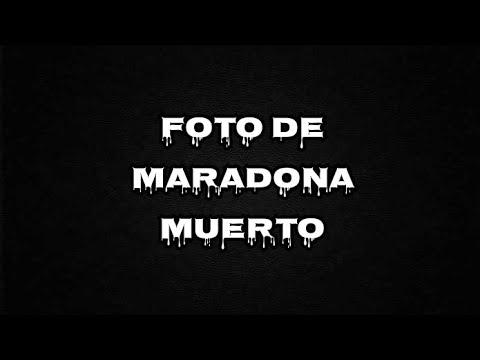Foto de Maradona muerto y los que le tomaron la foto son los mas odiados en Argentina