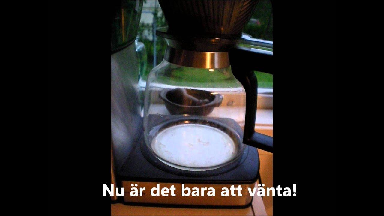 Hur man kokar kaffe i bryggare
