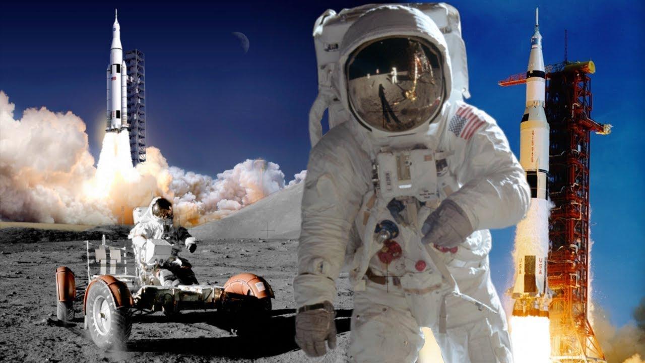 ЗАЩО КАЦАНЕТО НА ЛУНАТА НЕ Е ИЗМАМА?! - Аполо 11 - YouTube